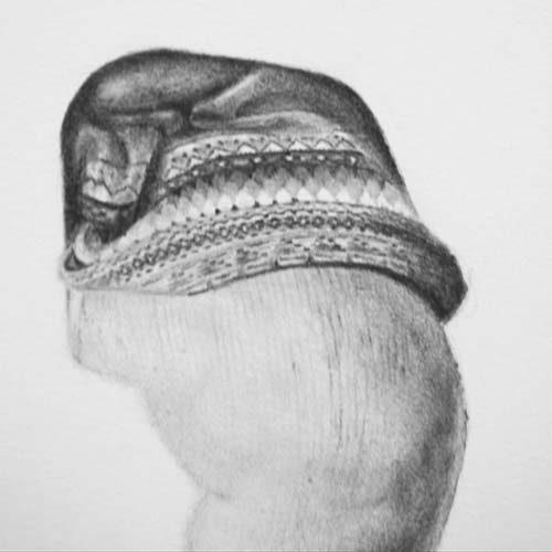 Hilde door kunstenaar Hanny de Beer