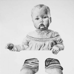 Tekening 'Hilde' door Hanny de Beer