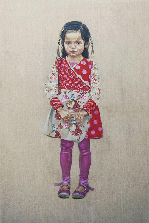 Renee portret door Hanny de Beer