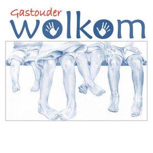 Logo 'Wolkom' gemaakt door kunstenaar Hanny de Beer